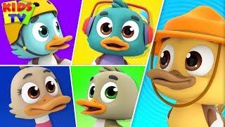 Five Little Ducks   The Supremes   Nursery Rhymes & Songs For Babies - Kidss TV