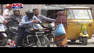 Woman beggar left behind Rs. 2.3 lakhs; Teenmaar News..