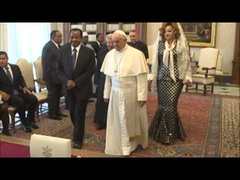 Le Chef de l'Etat et Madame Chantal BIYA en Visite Officielle au Vatican