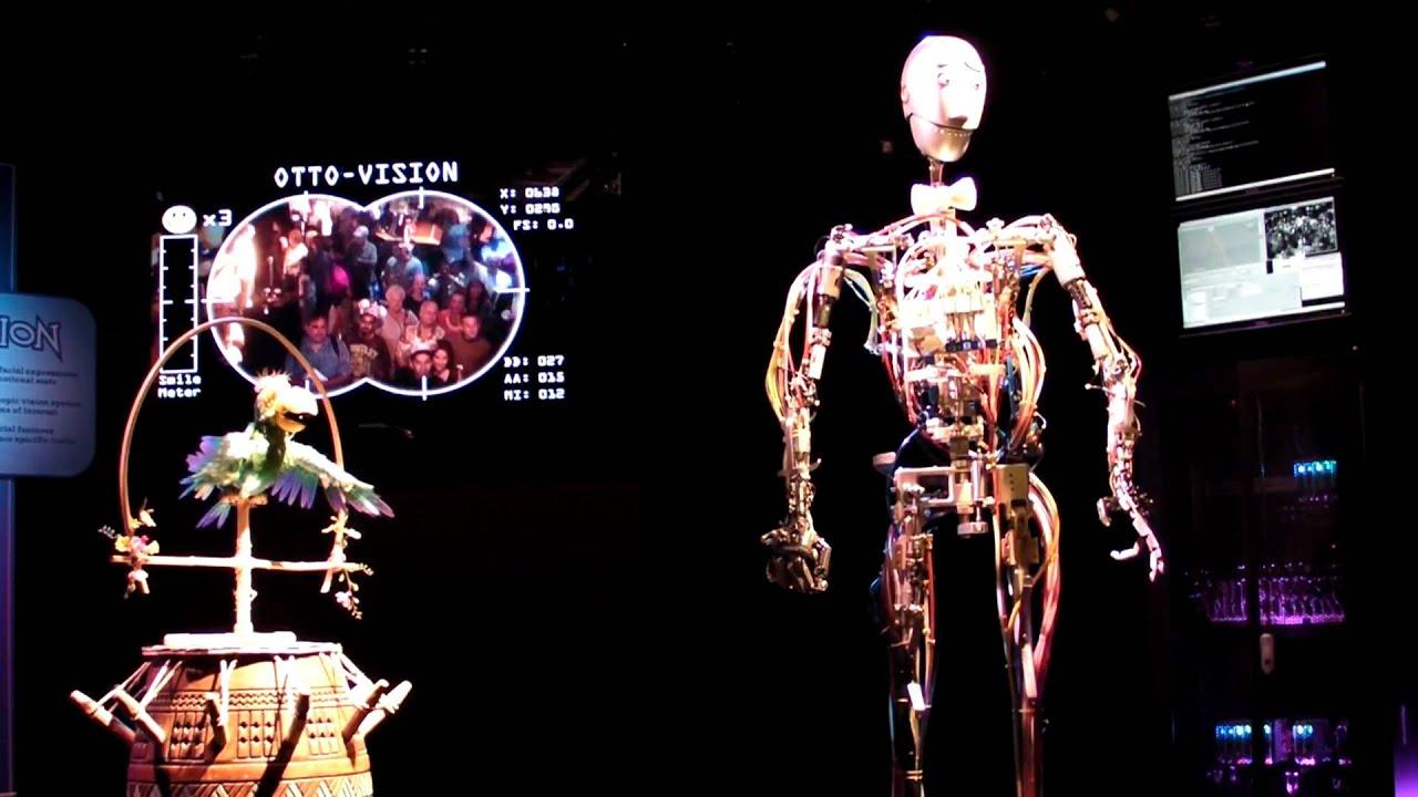 the first disney autonomous animatronics otto youtube