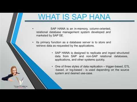 SAP  HANA Training Videos