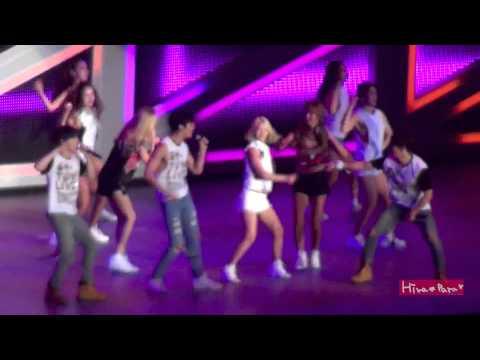150726 Hyoyeon Yuri Yoona CHOK CHOK DANCE @SMT Osaka