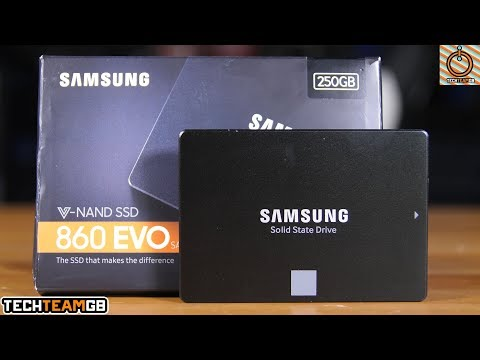 video Samsung 860 EVO SSD 250GB