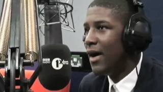 Labrinth live in the studio with Trevor Nelson on BBC Radio 1Xtra