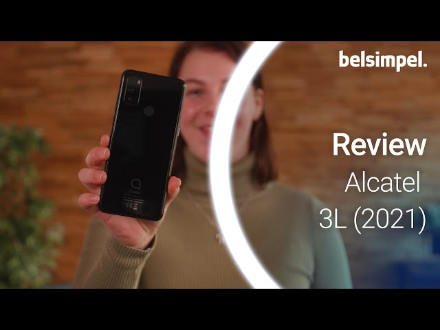 Belsimpel-productvideo voor de Alcatel 3L (2021)