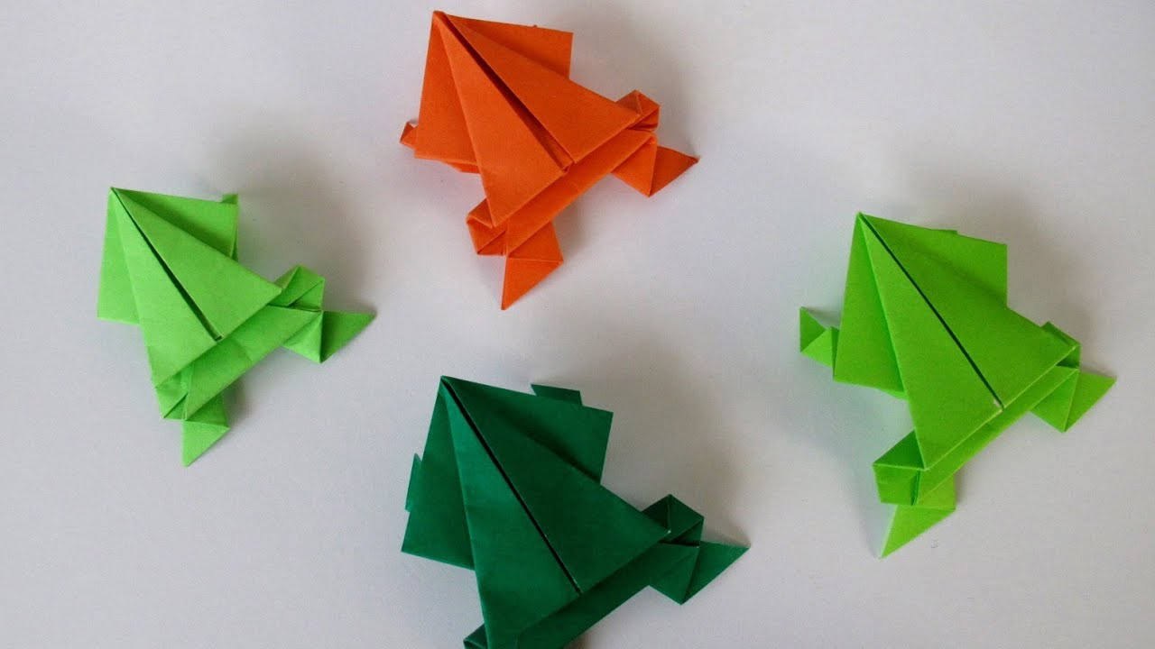 Origami Frog Video Tutorial