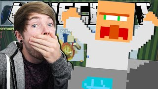 Minecraft | THE VILLAGER'S NOSE!! | Pixel Painters Minigame