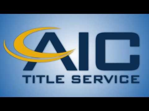 We Are AIC Title Service, LLC