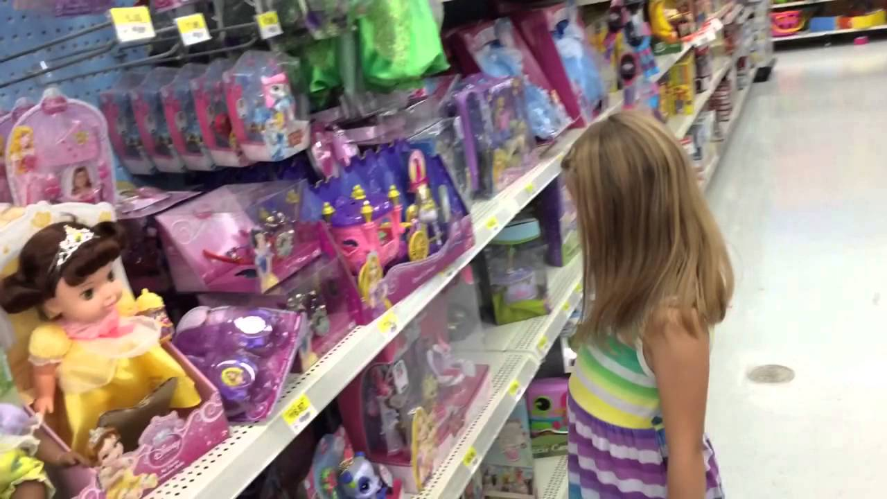 Buying Dolls At Wal Mart Monster High Disney Sofia The