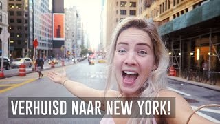 Ik woon in New York! ★ NEW YORK VLOG #1 ✈ Trendgloss