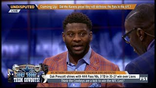UNDISPUTED | Ladainian Tomlinson ANALYST Think the Cowboys are a lock to win the NFL East?