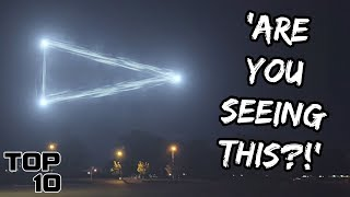 Top 10 Scary Lights In The Sky We Can't Explain