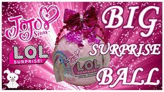 JoJo Siwa 🎀 LOL Surprise Custom Big Surprise Ball (SugarBunnyHops Custom Big Ball #1)