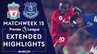 Liverpool v. Everton | PREMIER LEAGUE HIGHLIGHTS | 12/04/19 | NBC Sports