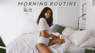 SUMMER MORNING ROUTINE | chill + relaxing