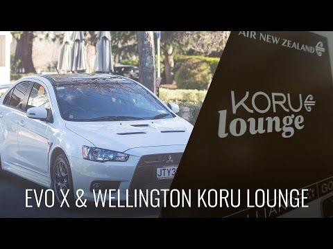 Wellington Koru Lounge & Mitsubishi Evo X Final Edition 2015