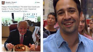 Hamilton's Lin-Manuel Miranda Sings Donald Trump Tweets In a New Musical | GQ