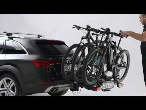 THULE EasyFold XT Towbar mounted 3 bike rack - 2017 Version 934300