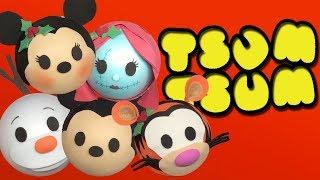 Fofucha tsum tsum Mickey, Minnie, Olaf, Tiger y Sally