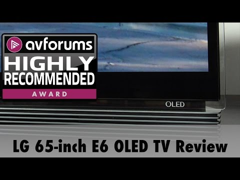 LG 65-inch E6 OLED UHD HDR TV Review