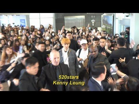 EXO - 朴燦烈Park Chanyeol(박찬열) Arrived Hong Kong Airport 20190426