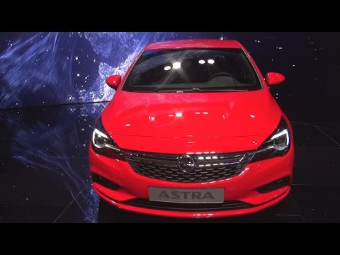 Opel Astra Sports Tourer BiTurbo (2016) Exterior and Interior in 3D