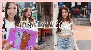 KOREA VLOG part 1 | shopping, nails, idol sighting!