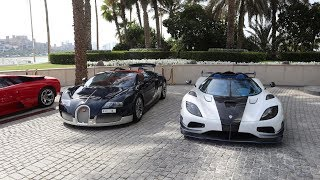 Taking Hypercars to the ONLY 7 Star Hotel