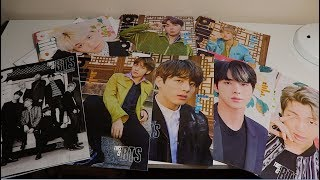 BTS BILLBOARD MAGAZINES + POSTERS UNBOXING