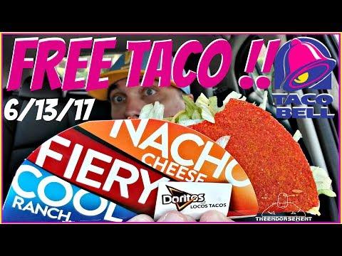TACO BELL® | FREE DORITOS® LOCOS TACO DAY | STEAL A TACO