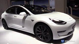2020 Tesla Model 3 - Exterior and Interior Walkaround - 2020 Brussels Motor Show