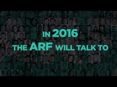 Join @The_ARF at #CES2016 to discuss the future of advertising.