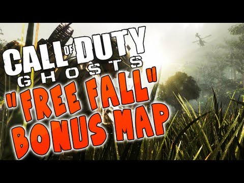 "New! Call Of Duty Ghosts ""FREE FALL"" Dynamic Map Gamestop Preorder Bonus! - Smashpipe Games"