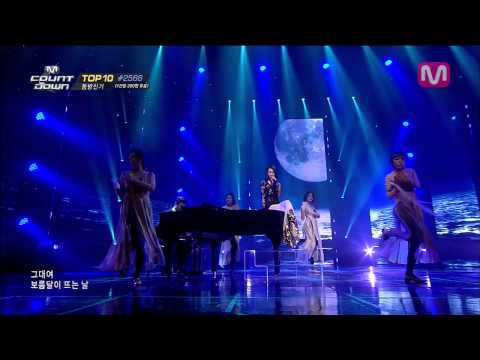 선미_보름달 feat.산이 (Full Moon by Sunmi feat San E of M COUNTDOWN 2014.03.13)