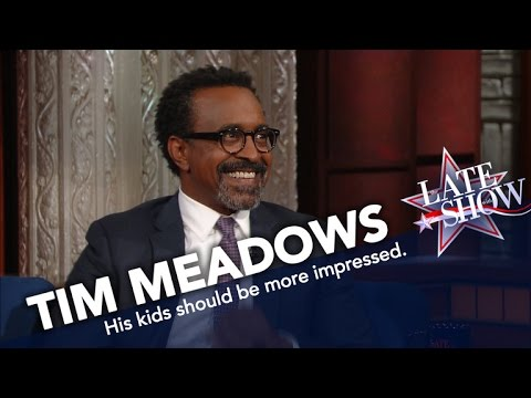 Tim Meadows Has to Remind His Kids He's Famous