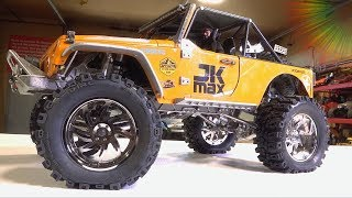 """UNBOX & INSTALL 3.2"""" DUB STYLE Wheels on the JK MAX from D1RC 