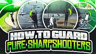 HOW TO LOCKDOWN 3 POINT SH00TERS ON NBA 2K18!