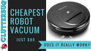 Cheapest Robot Vacuum - Does it really work?