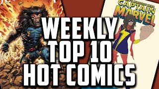Hot Top 10 Comic Books On The Rise - OCT (Week 1) 2018, Speculation, Sales & Investing