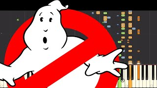 Ghostbusters Theme Song - NPT Music Remix - Piano Cover