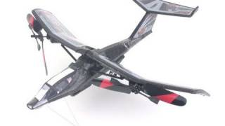 Air Hogs Osprey -- transforming RC airplane & helicopter!