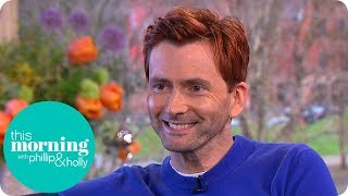 Why Has David Tennant Got Red Hair? | This Morning