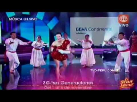 Maju Mantilla deslumbro bailando festejo