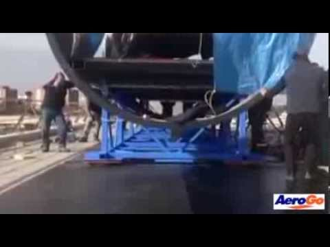 Air Caster Rigging System Moves 10 Tons