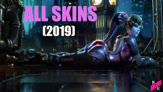 Widowmaker - All Skins, Emotes, Voice Lines & More (Overwatch - 2019)