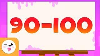 Adivina los números del 90 al 100 - Aprende a escribir y leer los números del 1 al 100