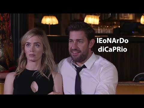 Emily Blunt and John Krasinski are HILARIOUS and ADORABLE
