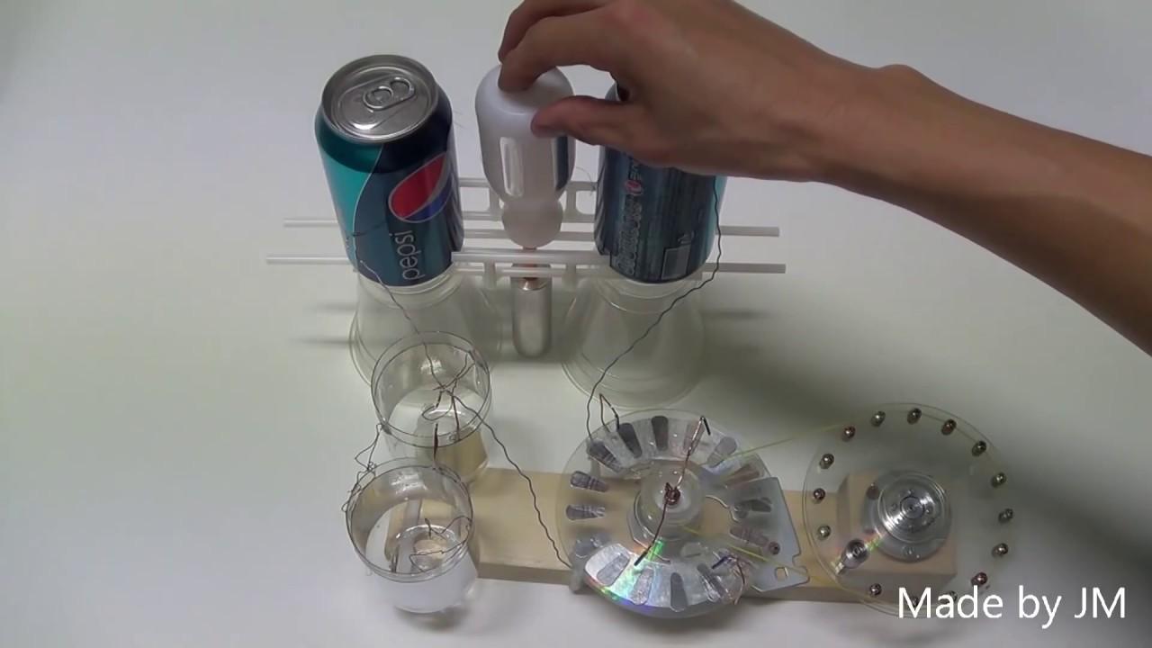 Toepler Holtz Electrostatic Generator Replica Youtube