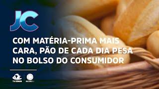 Com matéria-prima mais cara, pão de cada dia pesa no bolso do consumidor