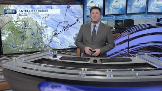 Watch: Snow, mix to clear out; partial sunshine for some in afternoon